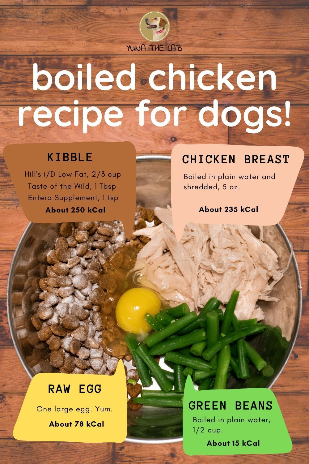 how to boil chicken for dog treats