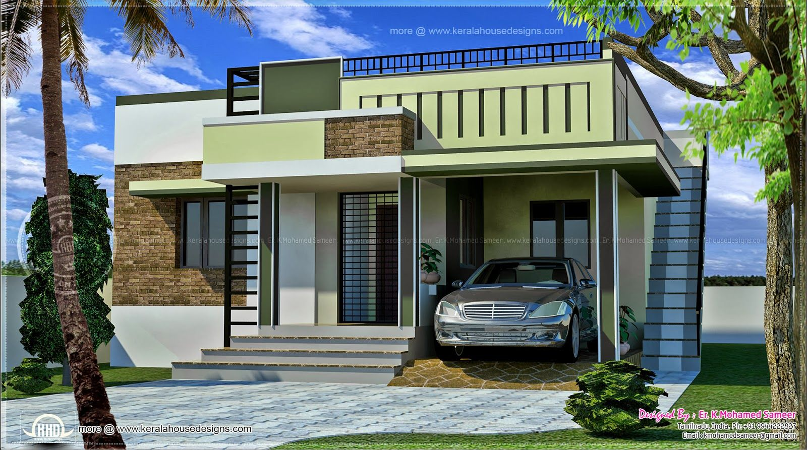 Elevation designs for single floor houses. Elevation designs for single floor houses   House list disign