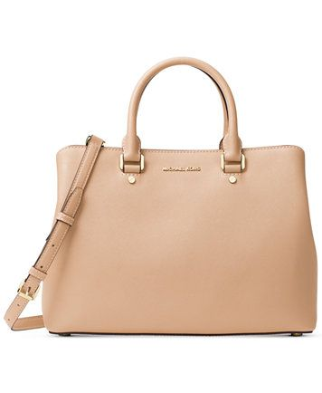 Michael Kors Savannah Large Satchel Macys