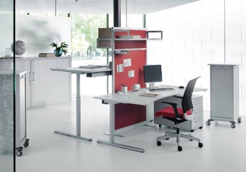 Schreibtisch Votus E - hund Büromöbel   Arbeitsplatz, Arbeitszimmer ...