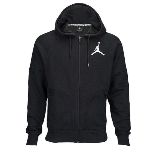 Jordan Fleece Full Zip Hoodie - Men's