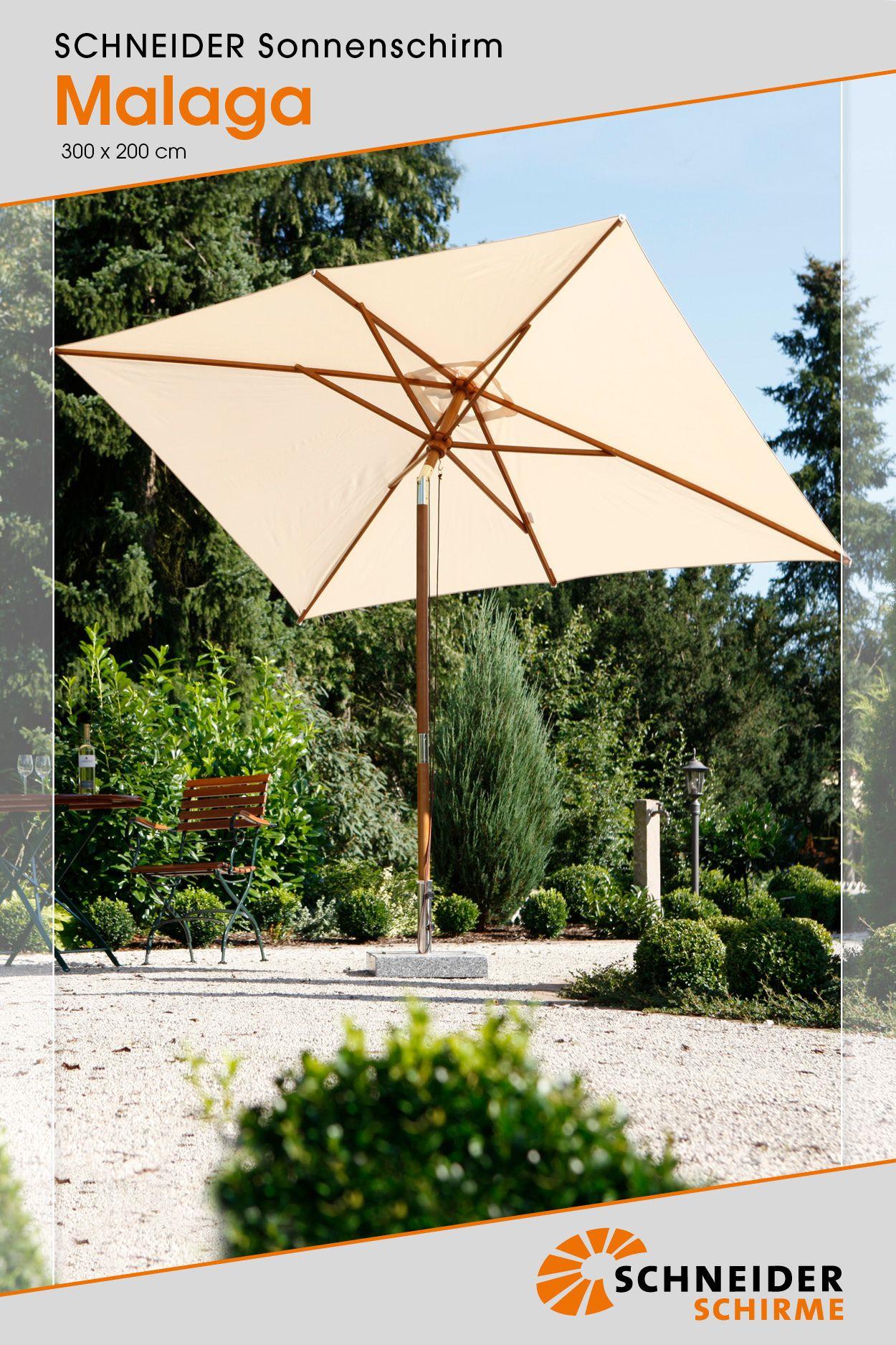Malaga 300 X 200 Cm Malaga Outdoor Sonnenschirm