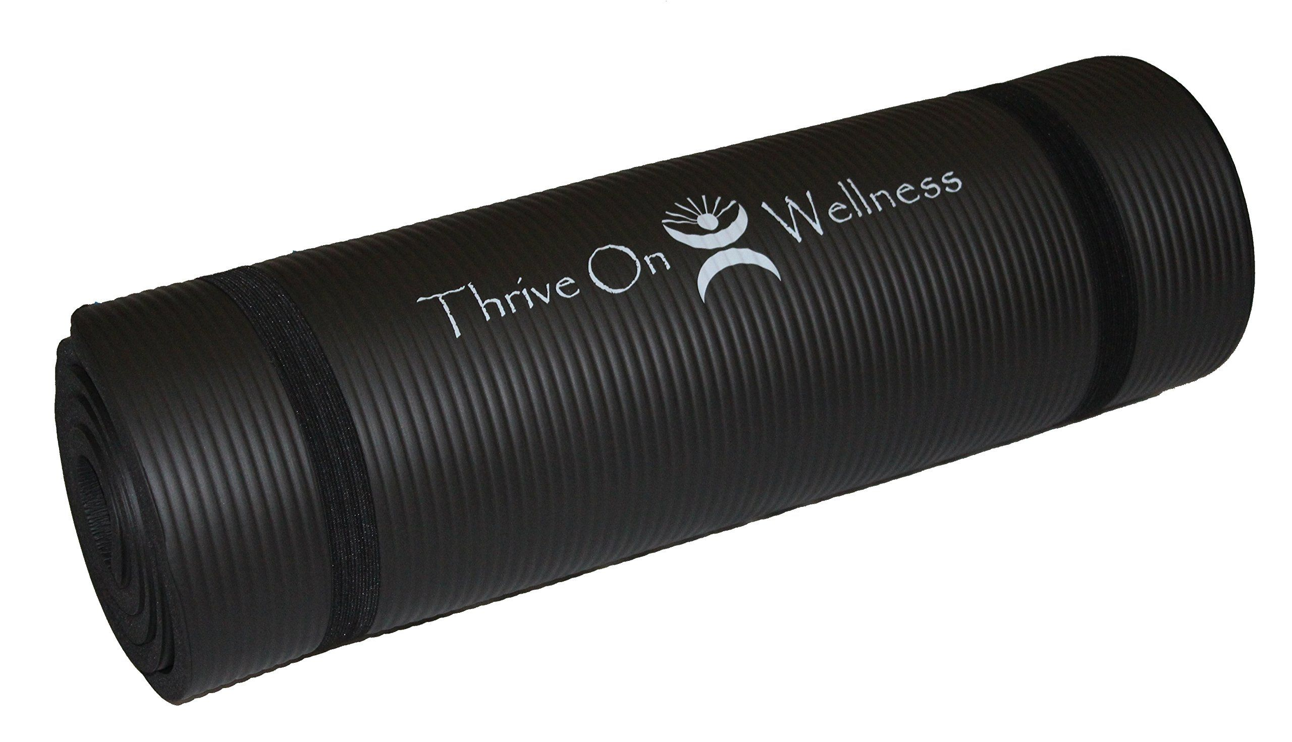 Extra Thick And Extra Long Non Toxic Yoga Mat Thick Yoga Mats Yoga Mats Best Mat Exercises