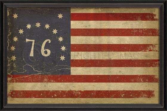 Bennington Flag Framed Print 17 X 25 Framed Flag Framed Prints Historical Flags
