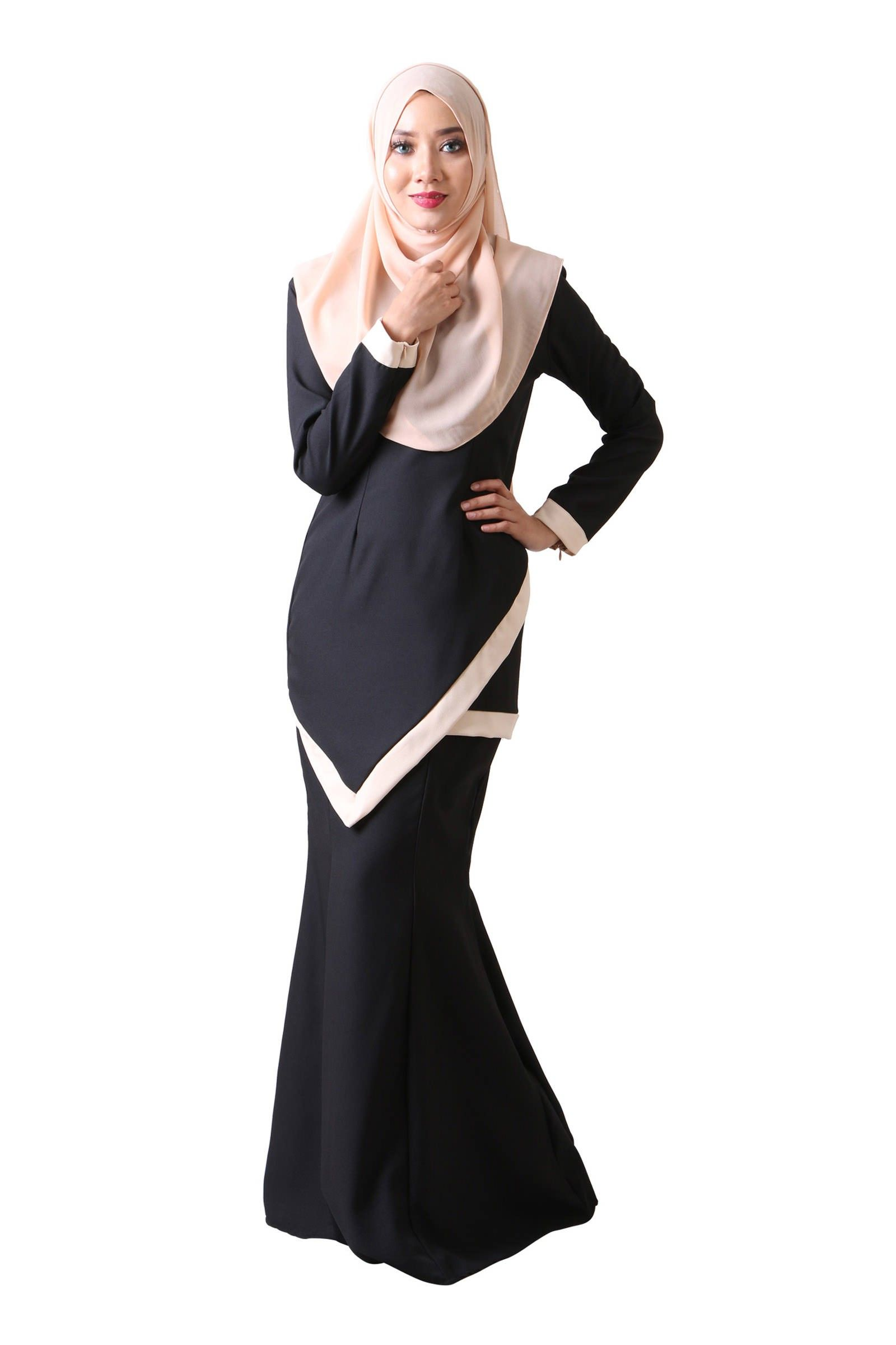 Simple And Sleek Baju Kurung Moden Baju Kurung And Simple