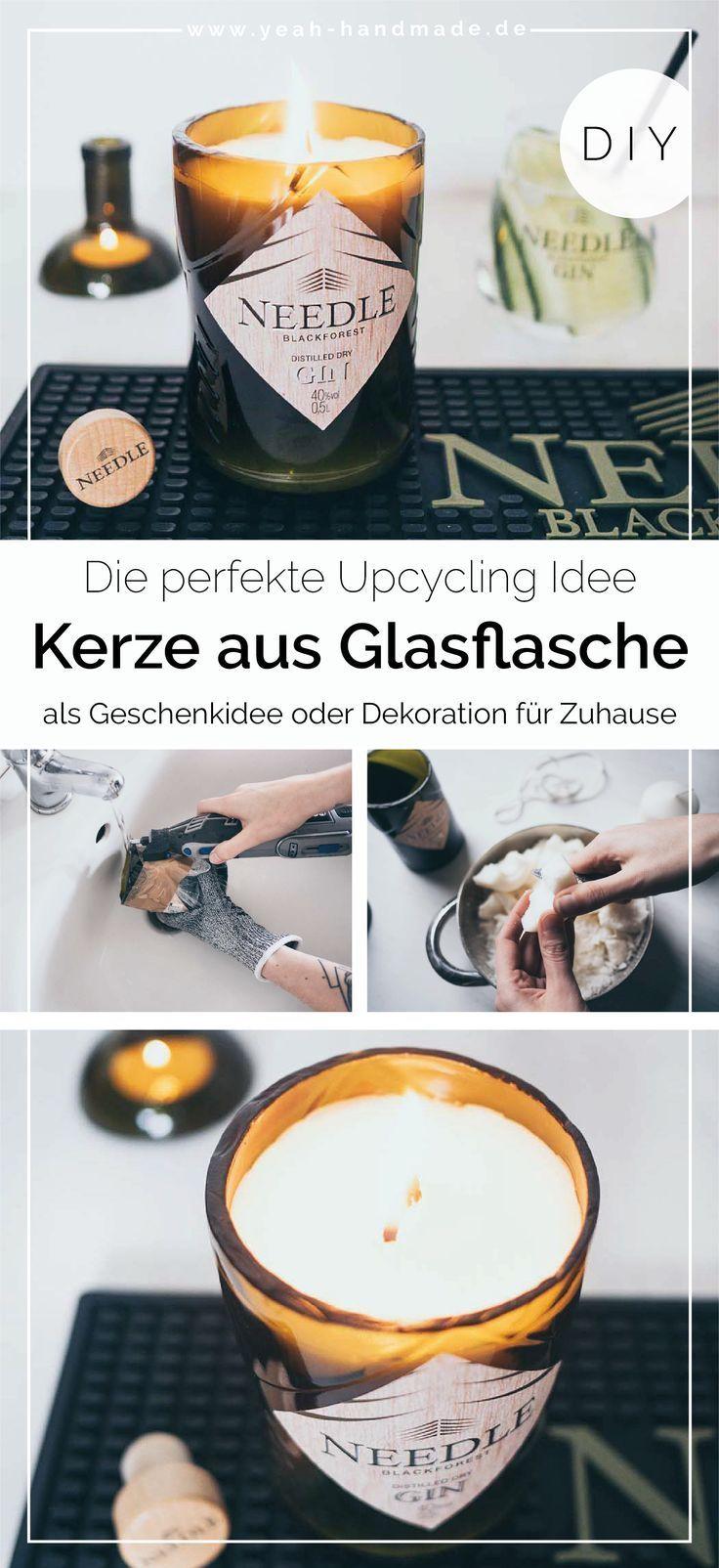 Bild von [Anzeige] Machen Sie selbst DIY Glasflaschen mit Needle Blackfor
