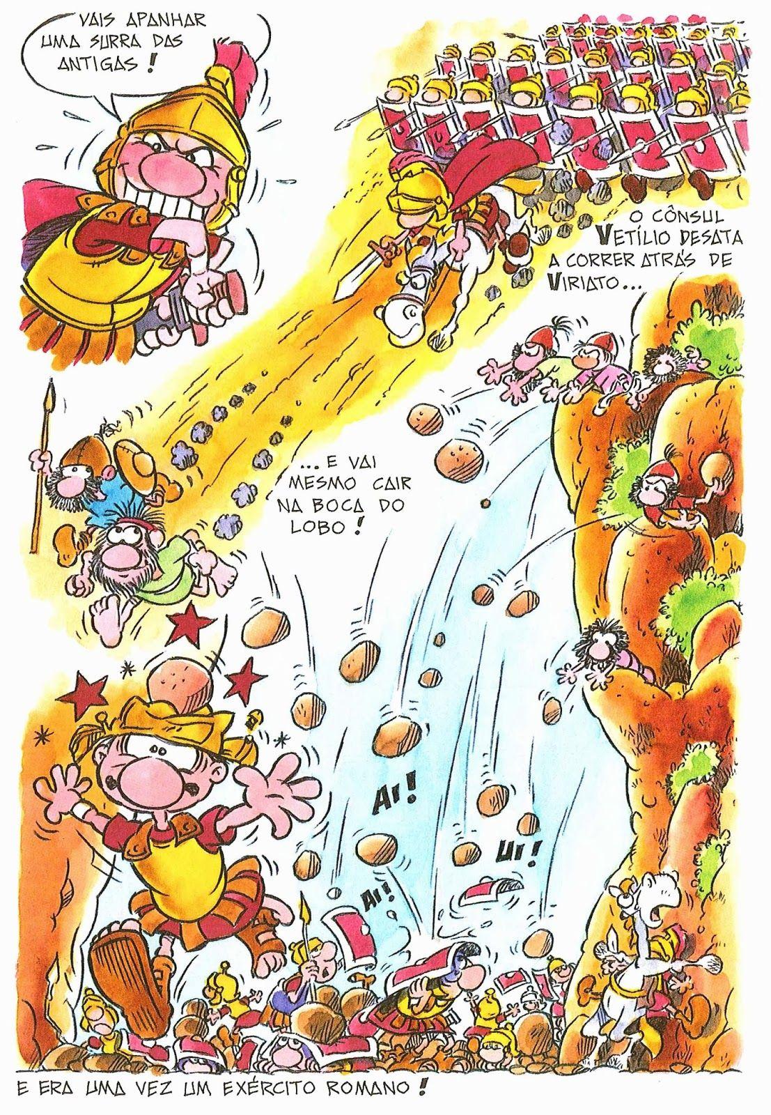 BDBD - Blogue De Banda Desenhada: BD E HISTÓRIA DE PORTUGAL (5) - VIRIATO
