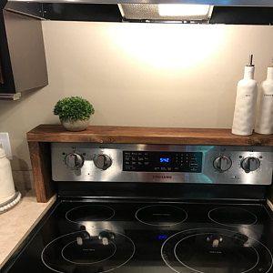 Spice rack Oven/Stove Spice Rack #kitchendecor