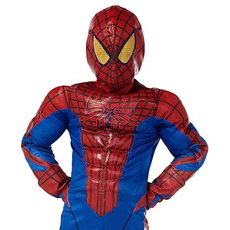 Marvel Boys Amazing Spiderman Long Sleeve Coat