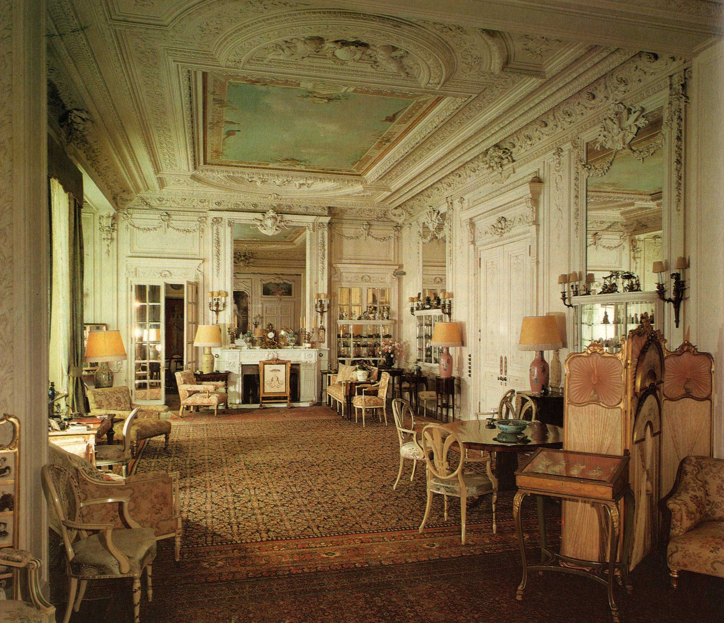 The drawing room sandringham house norfolk england for British house interior