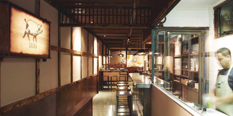 Chuka se presenta no solo como el primer Ramen Bar en Madrid sino como un espacio único en el que disfrutar del culto a la gastronomía oriental.