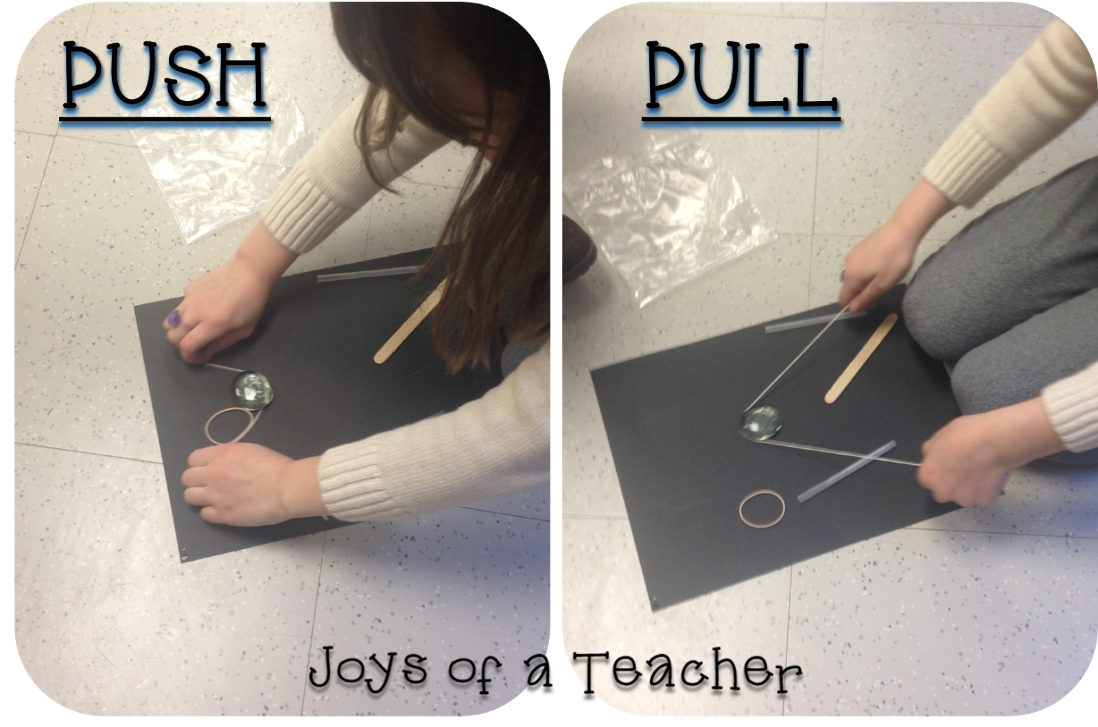 Push And Pull Stem Activity