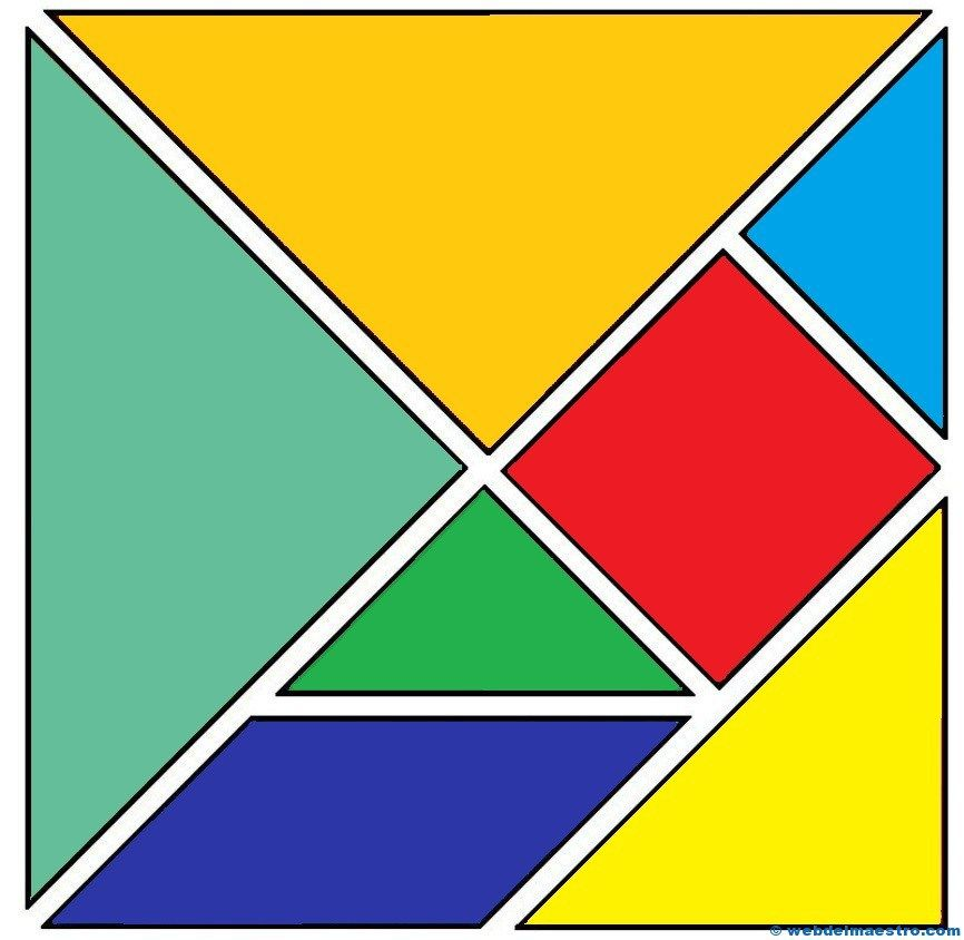 tangram kinder malvorlagen pdf  28 images  tangram