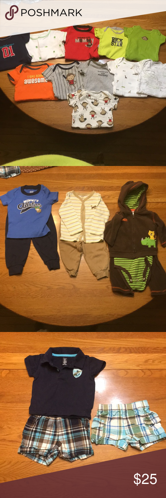 Baby clothes Bundle pack! 6 months baby boy onesies (11 ...