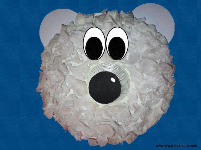 Bambini Simpatici ~ Lavoretti inverno orso bianco in inverno lavoretti per bambini e