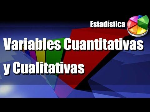 Variables Cuantitativas y Cualitativas - Ejemplos y Ejercicios - YouTube
