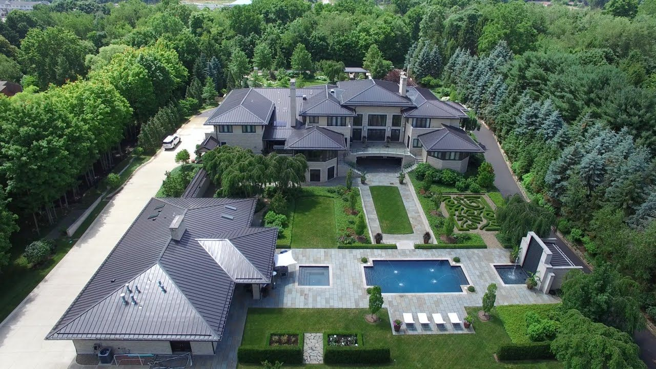 Lebron James House Akron Ohio Cleveland Cavaliers 2016 Big