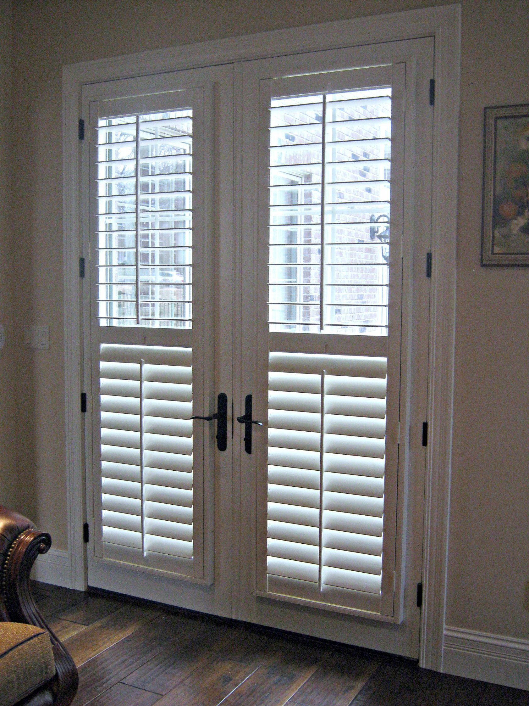 Plantation shutters for sliding patio doors shutters pinterest