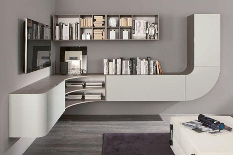 centros de entretenimiento muebles contemporaneos minimalistas - Muebles Contemporaneos