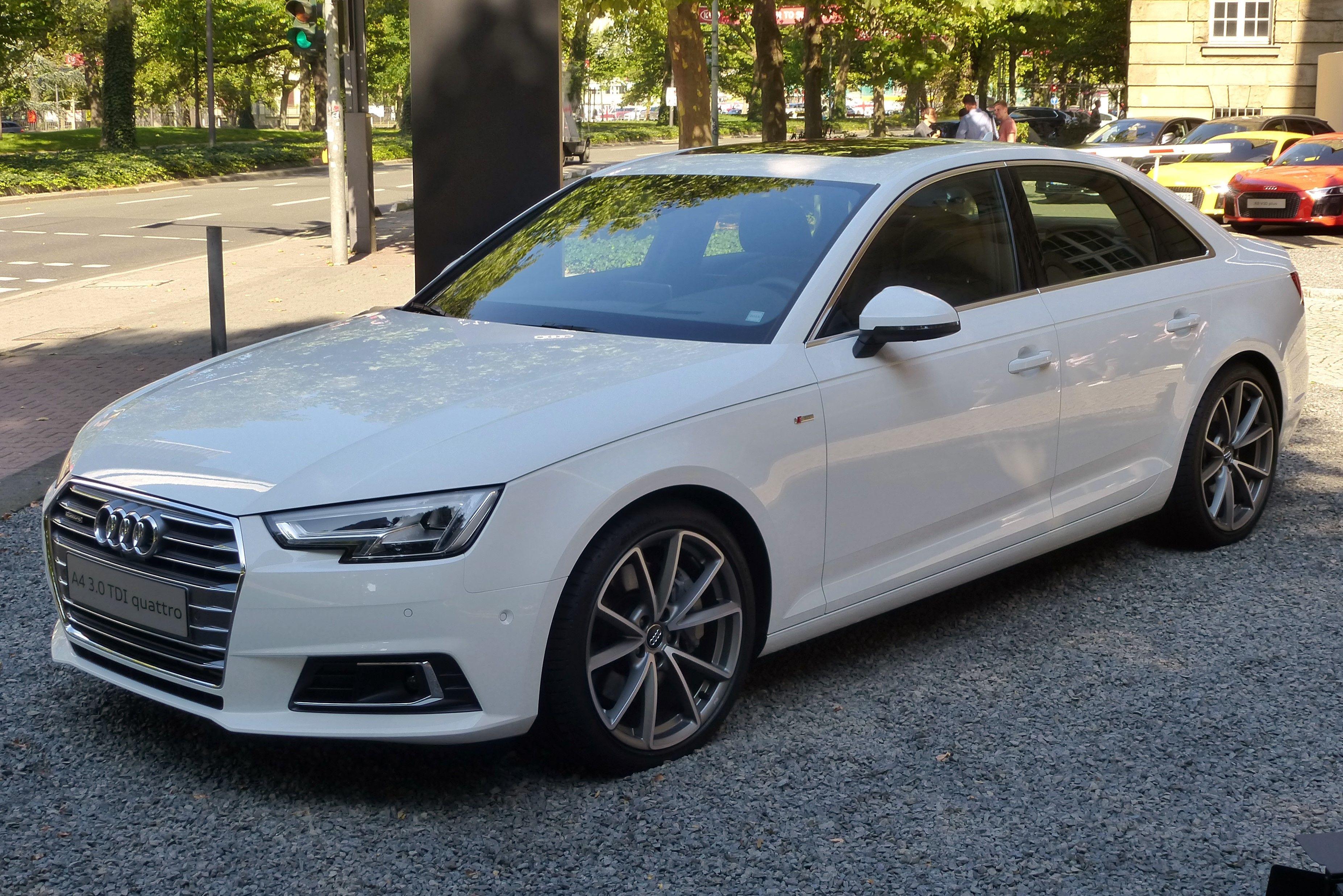 Audi A4 2018 Audi A4 Audi Wagon Audi