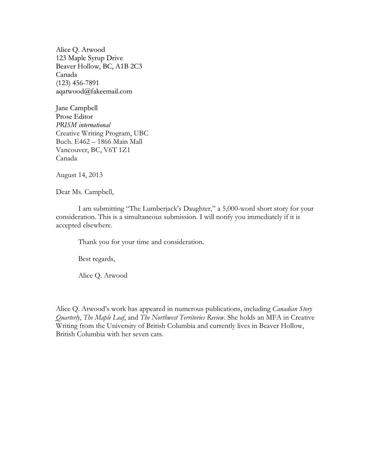 resume example  example of a cover letter for student