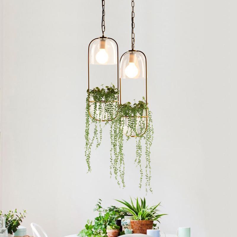 Hanging Plant Vase Pendant Light In Brass Hanging Plants Hanging Plants Indoor Plant Vase