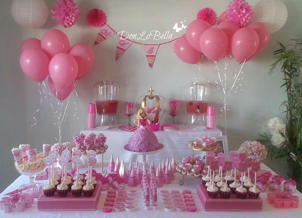 princess aurora birthday party ideas
