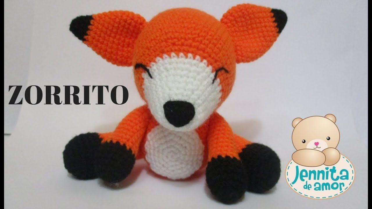 Volpe Portachiavi Amigurumi Tutorial 🦊 Fox Keychain Crochet ... | 720x1280