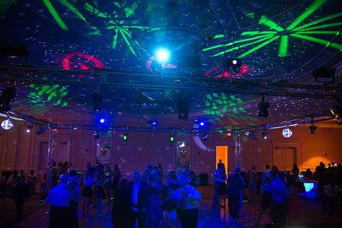 Virtual Nightclub High Energy Lighting