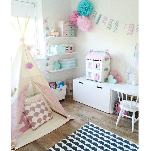Dormitorios infantiles amueblados con stuva estilo - Almacenaje ikea infantil ...