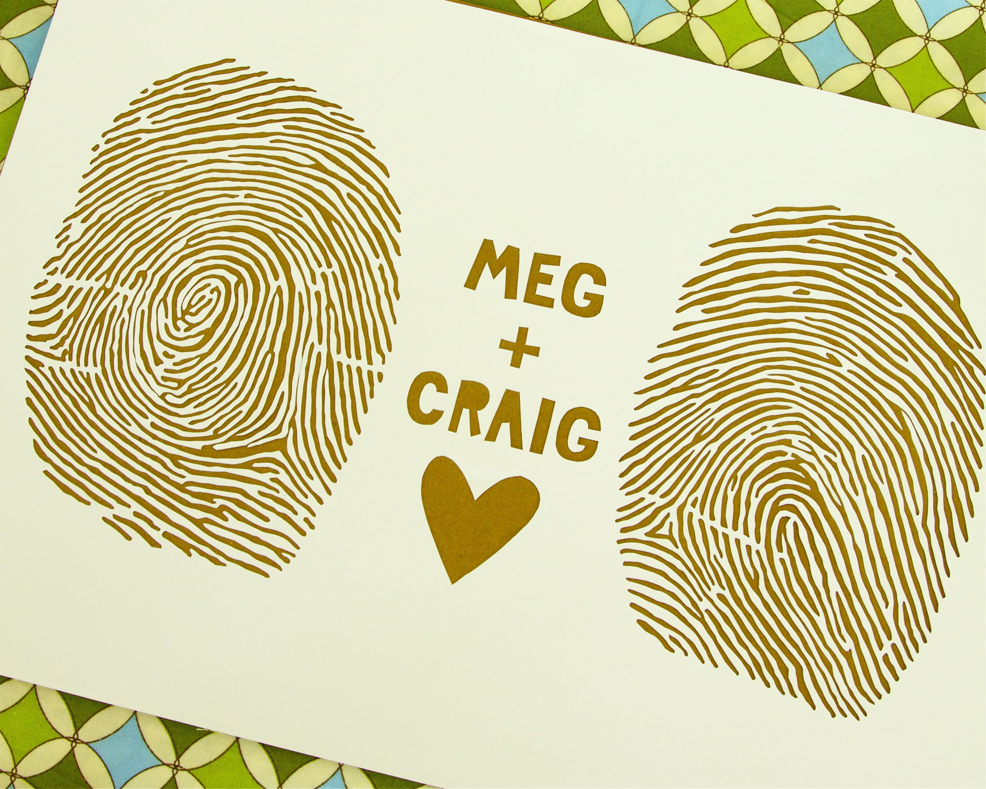 fingerprint love | One day when I do... | Pinterest | Beach wedding ...