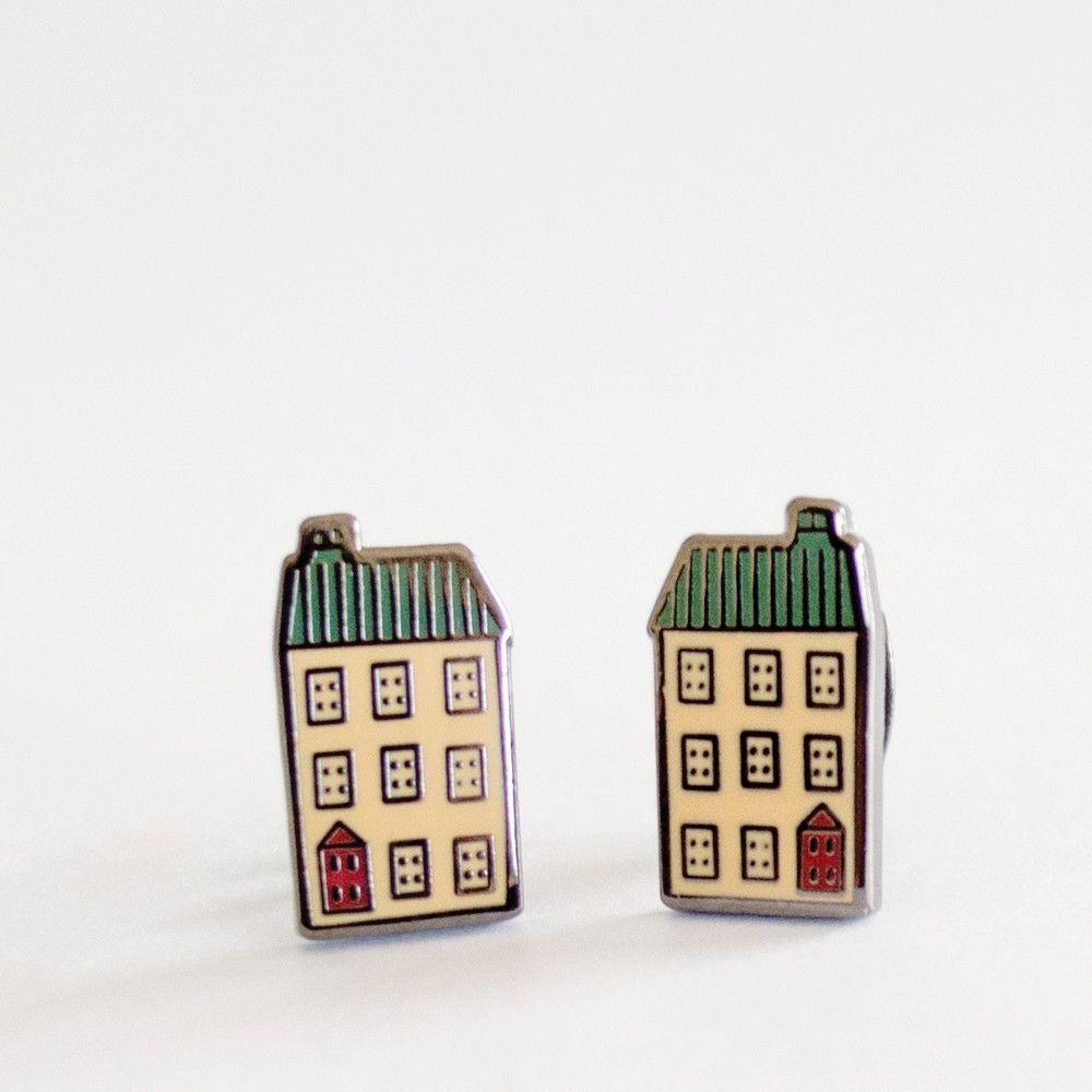 Enamel Dollhouse Studs