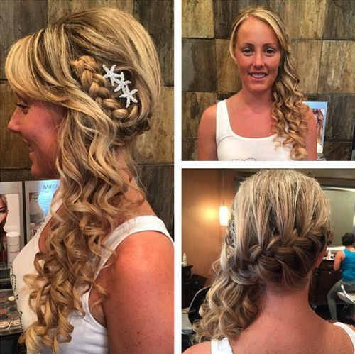 11 Half Updos for Your Perfect Everyday and Party Looks | Side ...