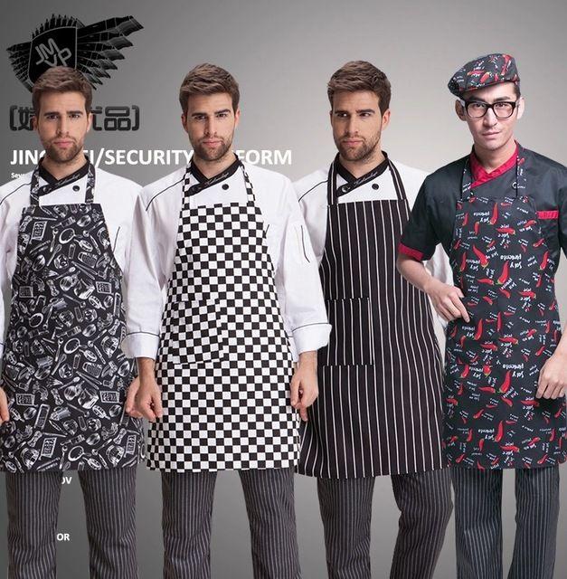 Kitchen Apron Avental Necessaire Chef Kitchen Casaco Necessarie