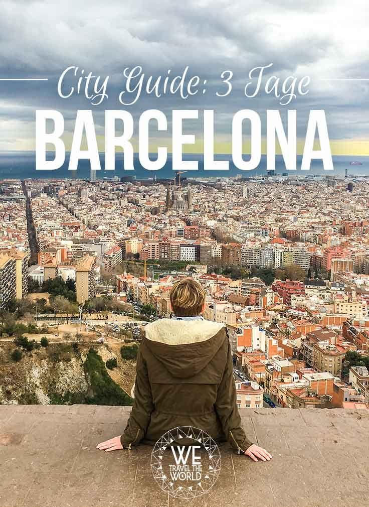 City Guide Barcelona für 3 Tage – Barcelona Reisetipps, Sehenswürdigkeiten, Highlights, Insidertipps und Must Sees die jeder besichtigt und gemacht haben sollte. #reisetipps #barcelona