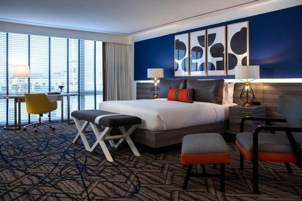 Hot new bedroom interior design at the kimpton hotel for Kimpton hotel decor