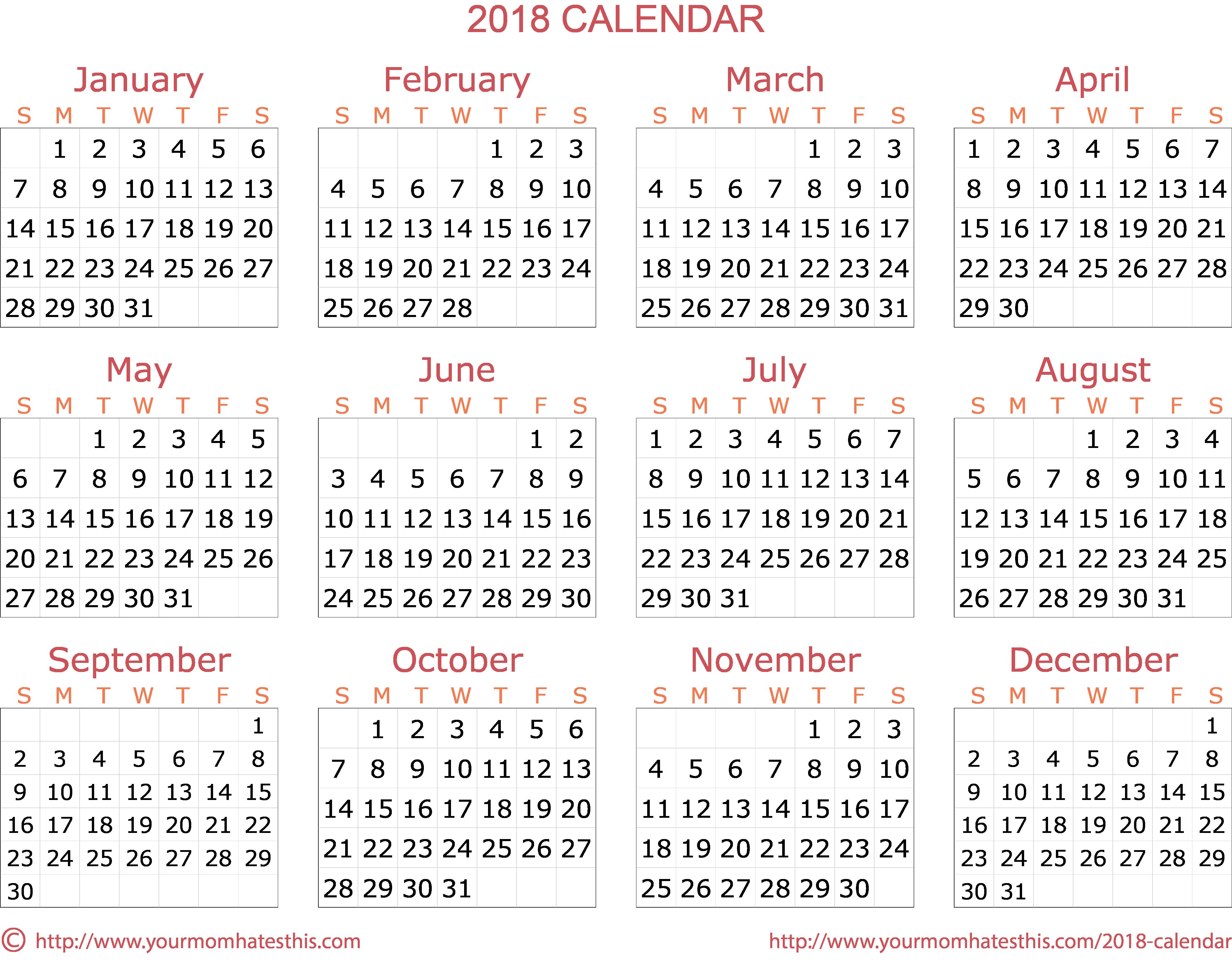 2018 Calendar Png Calendar Calendar Png November Calendar Calendar
