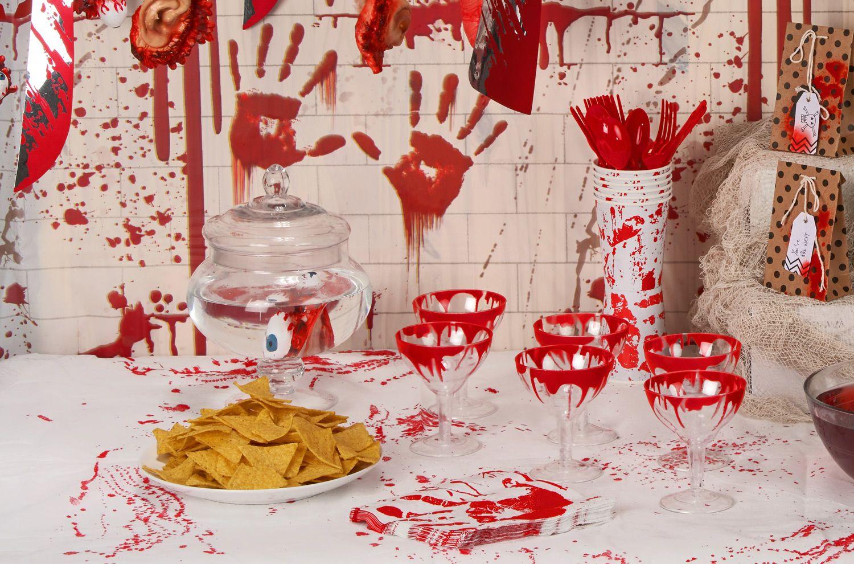 Addobbi Tavola Per Halloween tavola di halloween: che colore scegliere?