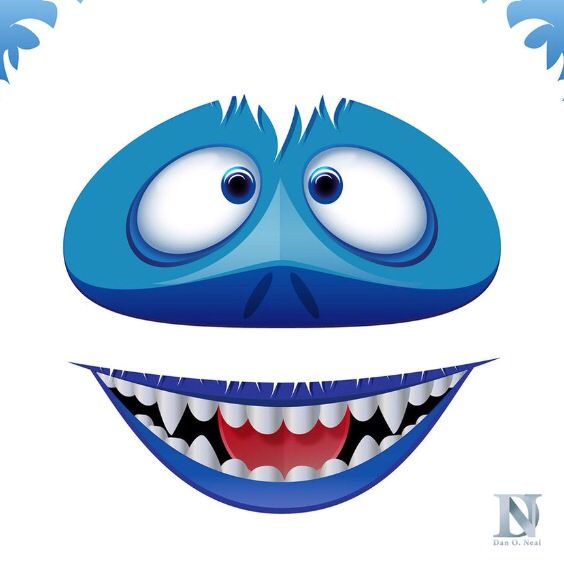 Bumble The Abominable Snow Monster Digital By Danohh