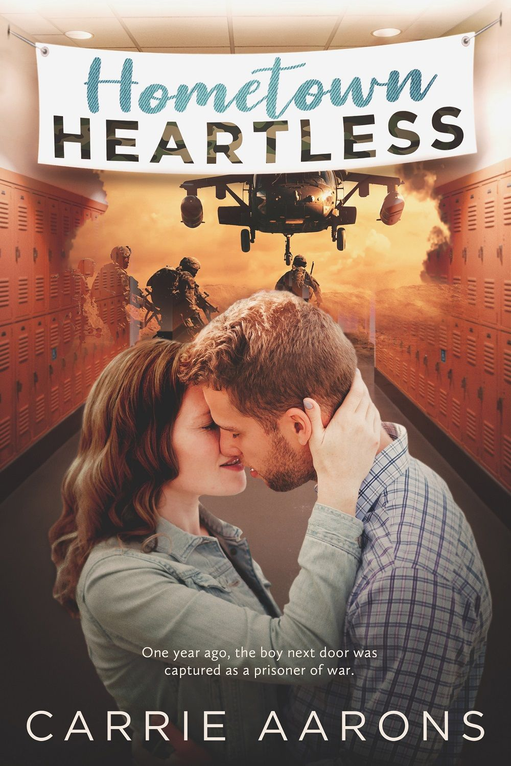 HOMETOWN HEARTLESS by authorcarriea is AVAILABLE NOW