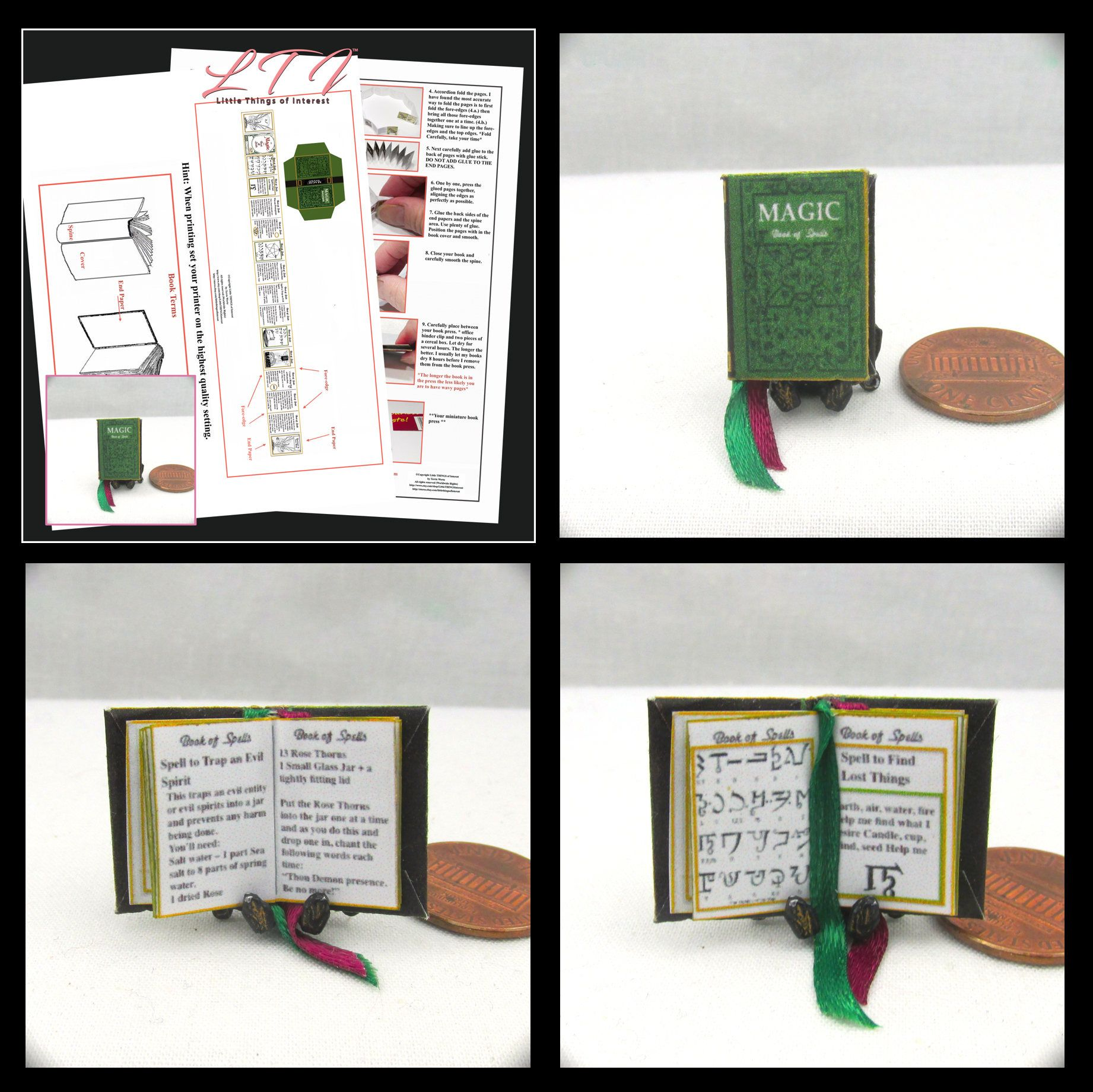 112 miniature dollhouse magic book of spells book pdf and tutorial 112 miniature dollhouse magic book of spells book pdf and tutorial printie printable download solutioingenieria Image collections