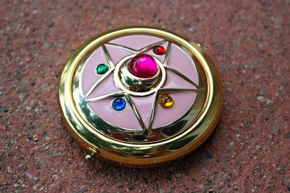 Sailor Moon Crystal Star Compact Broch by StarlightStudioStuff