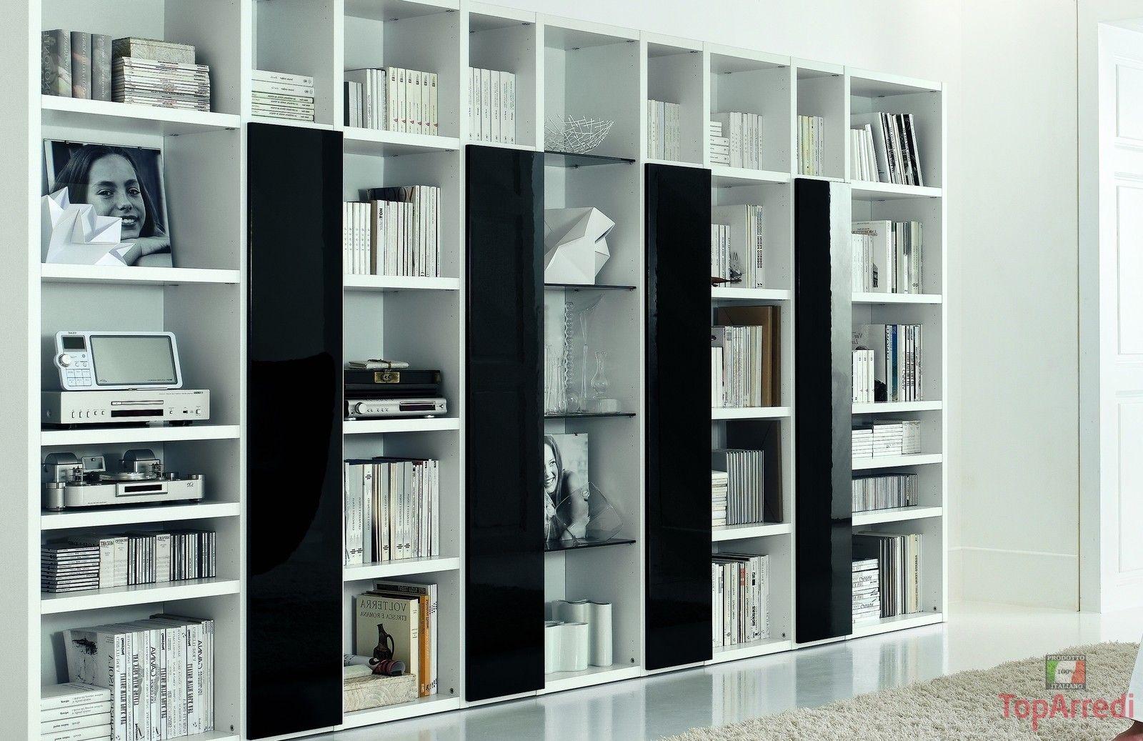 Libreria moderna READ | L+C | Pinterest | Soggiorni, Salotti e ...