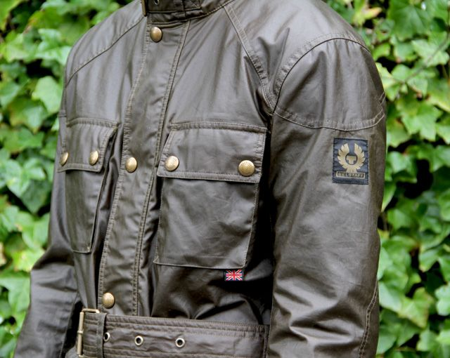 Belstaff mens roadmaster jacket olive