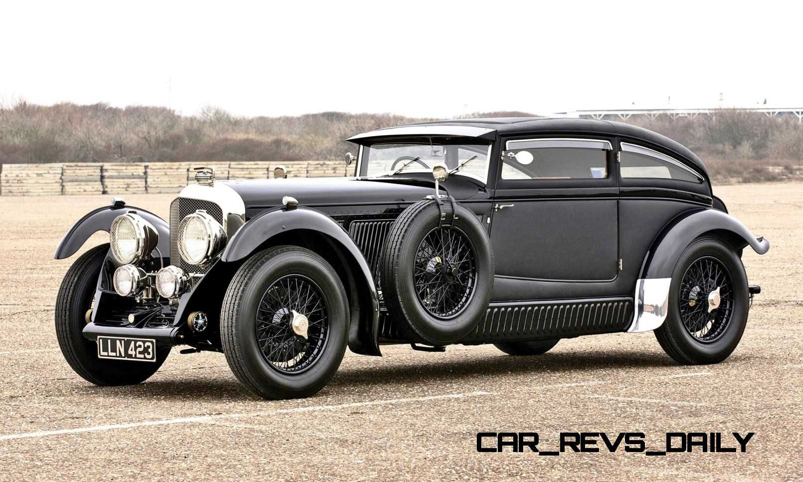 RM Amelia Island 2015 Preview 1930 Bentley Blue Train Is