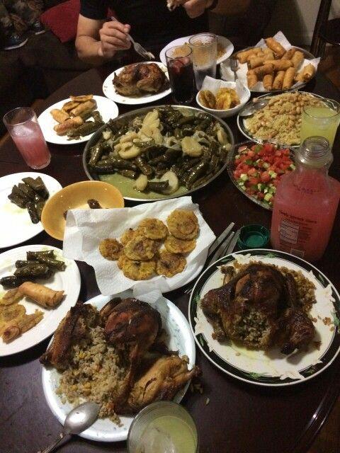 My Sisters Iftar Table Food Iftar Arabic Food