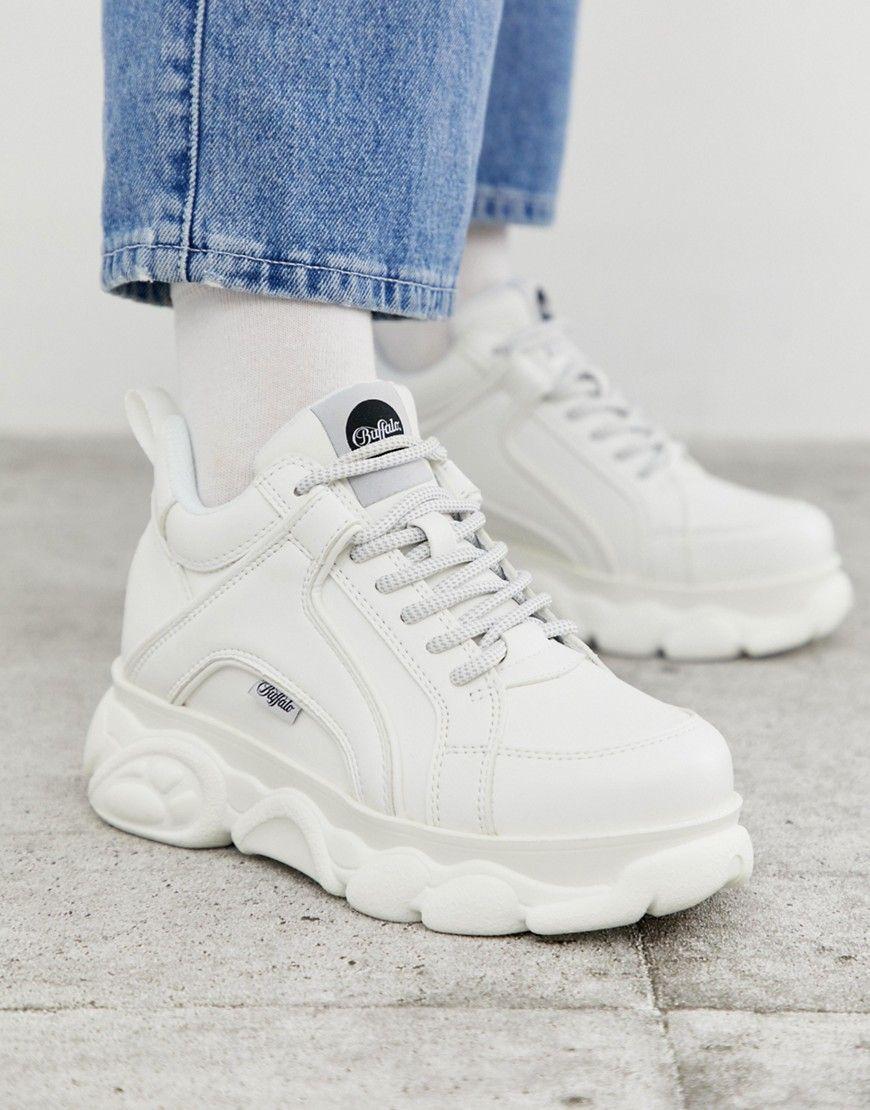 Buffalo Corin low platform sneakers in