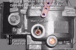 small engine pulse fuel pump