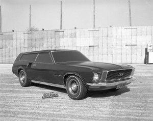 Ford Mustang Wagon concept
