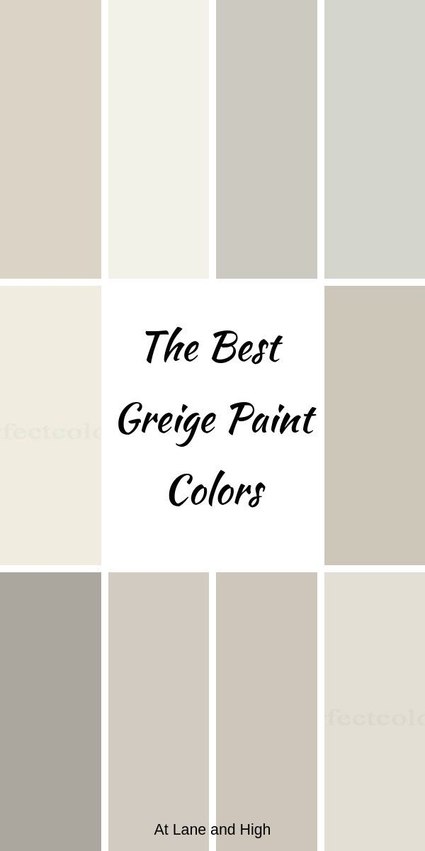 The Best Warm Gray or Greige Paint Colors For Your Home images